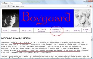 boyguard - in favour of circumcision