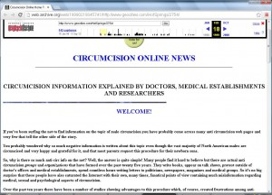 Snapshot of Mike Cormier's site from 1999
