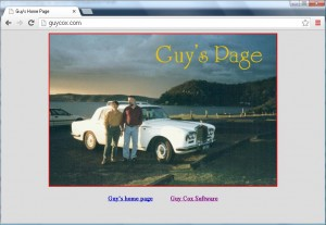 Guy Cox Website