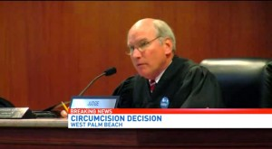 Judge Jeffrey Dana Guillen has played doctor through the legal proceedings, touting the benefits of the procedure, dismissing the risks, dismissing Heather's fears and Chase's wishes, and ignoring the expert testimony that the circumcision is not medically necessary and the doctor himself wouldn't circumcise a son at that age.